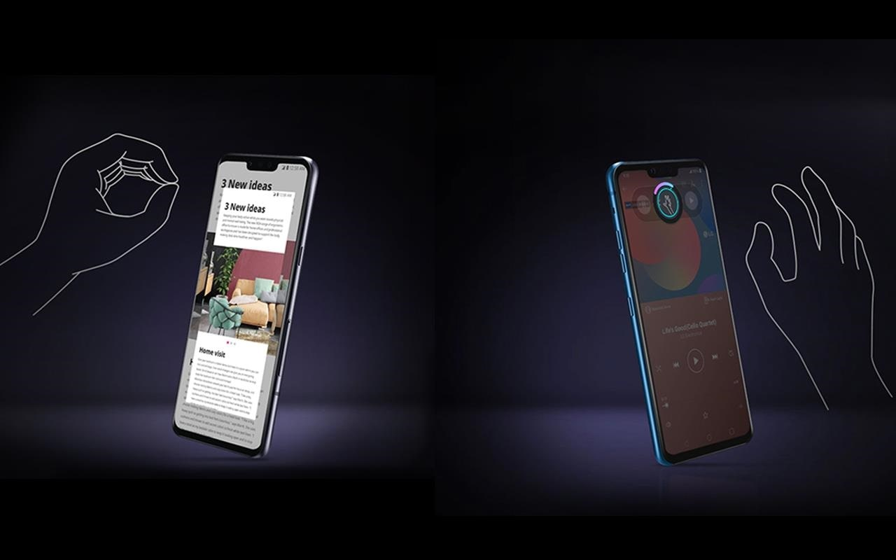 With LG's V50ThinQ, you can make things happen by simply waving your hand - from opening applications to answering calls | More at LG MAGAZINE