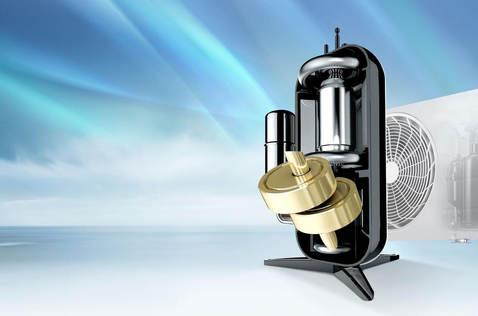 Dual Inverter Compressor™ garanti 10 ans<br>3