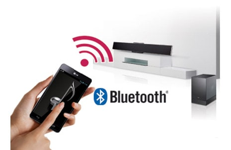 Streaming Audio sans file via  Bluetooth™