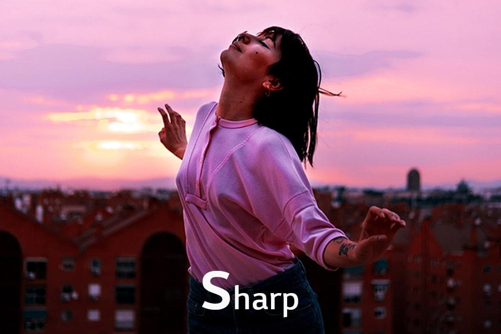 Une image d'une fille qui danse, étiquetée «Net»