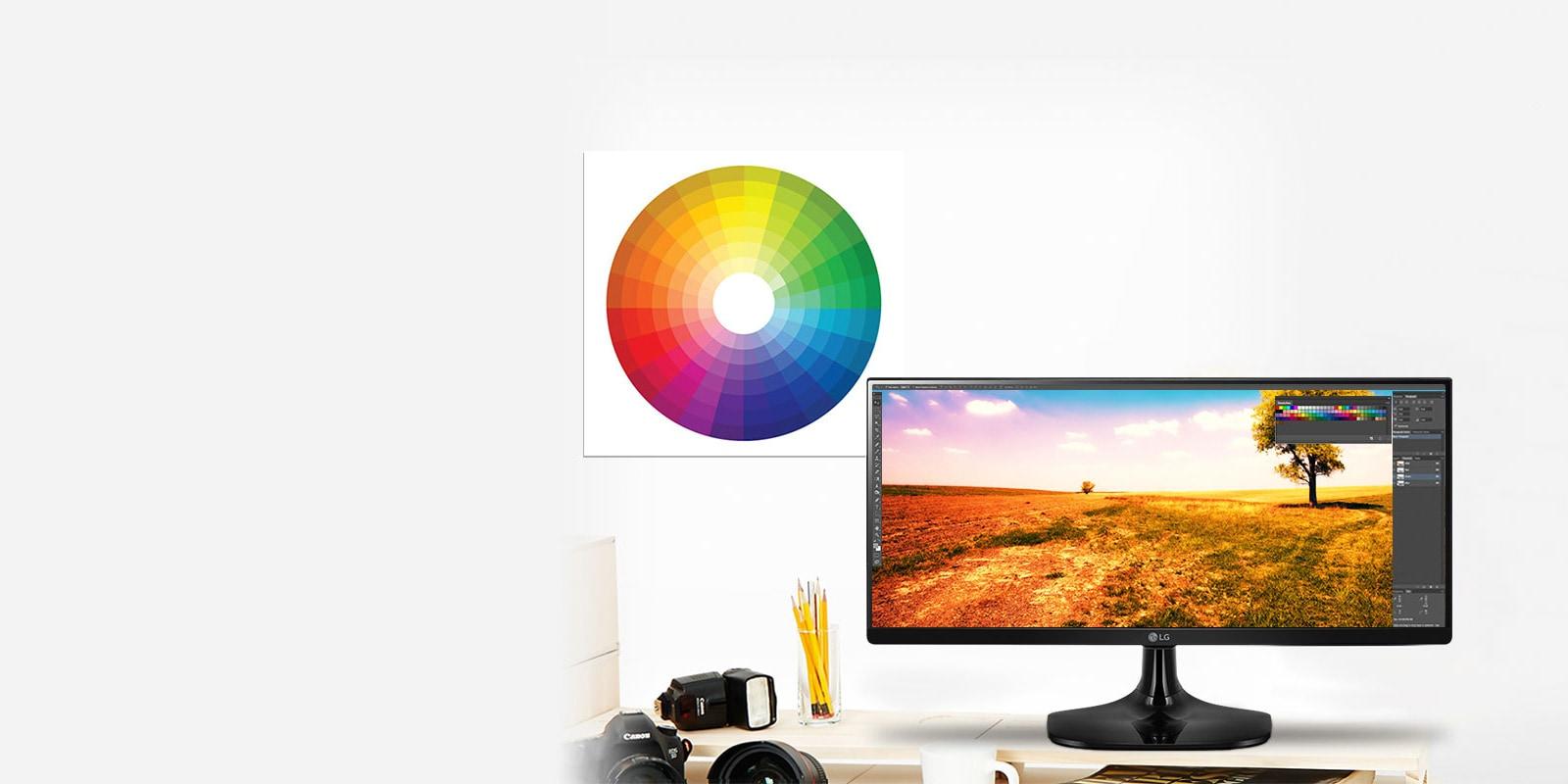 Función de color sRGB over 99%1