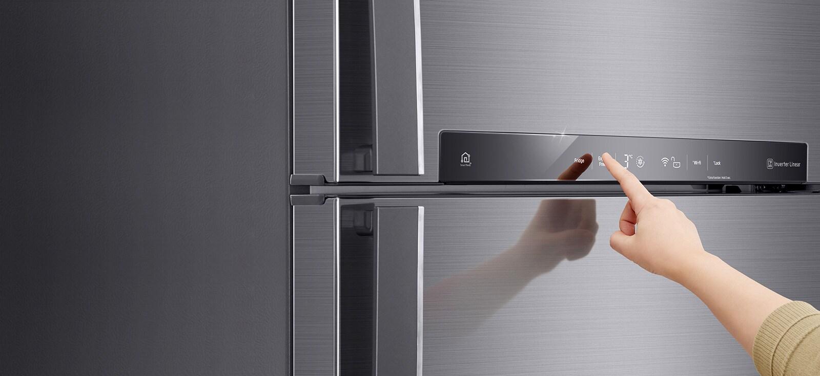 Refrigerador Con Compresor Linear Inverter Lt51mdp Lg M 233 Xico