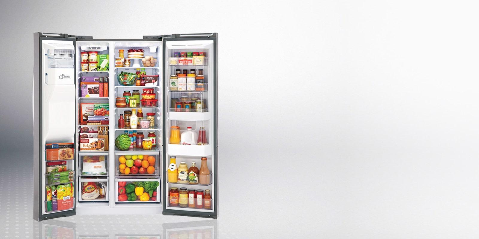Refrigeradores Duplex Lg Frescura Side By Side Lg M 233 Xico