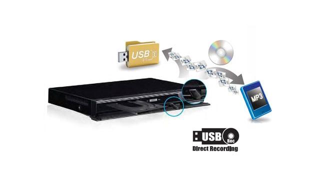 GRABACIÓN DIRECTA A USB