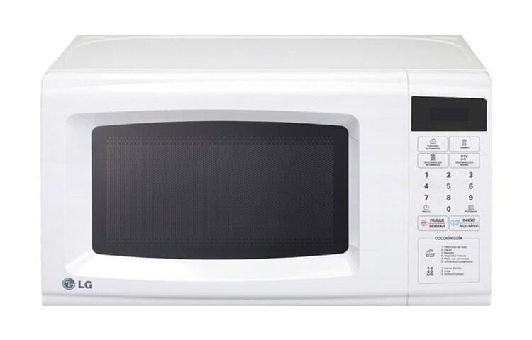 Lg horno de microondas lg solo 0 7 pies blanco lg m xico - Microondas de diseno ...