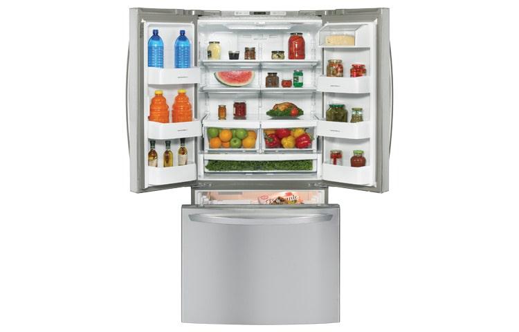 Refrigeradores Lg Gm B258rbs Bottom Mount De 25 Pies