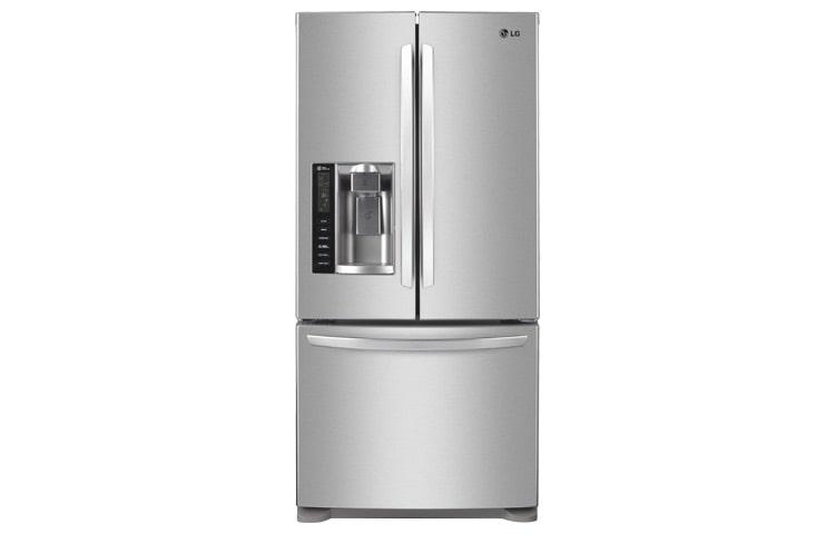Refrigeradores Lg Gm B258rs Bottom Mount De 25 Pies