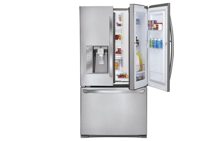 Refrigeradores Lg Gr B318ss Bottom Mount De 31 Pies