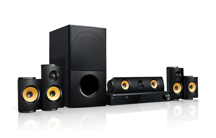 LG Home Theater LHB725 1