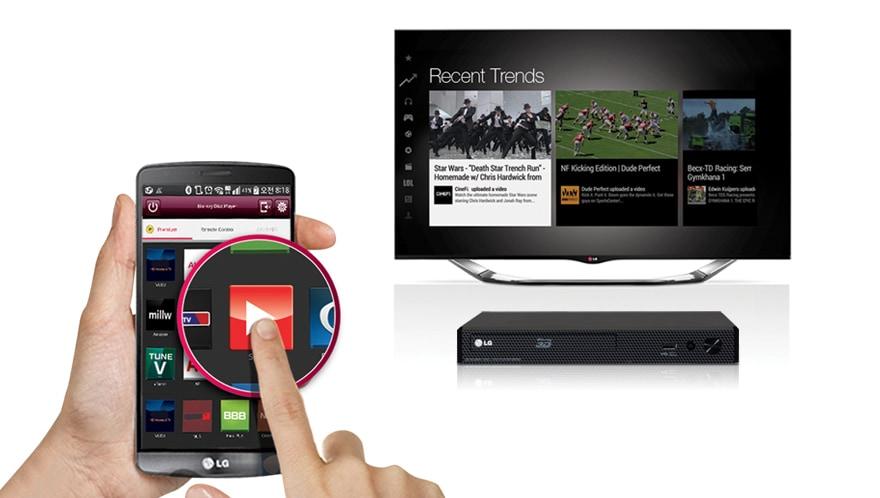 Acceso directo a contenidos en línea con Remote APP