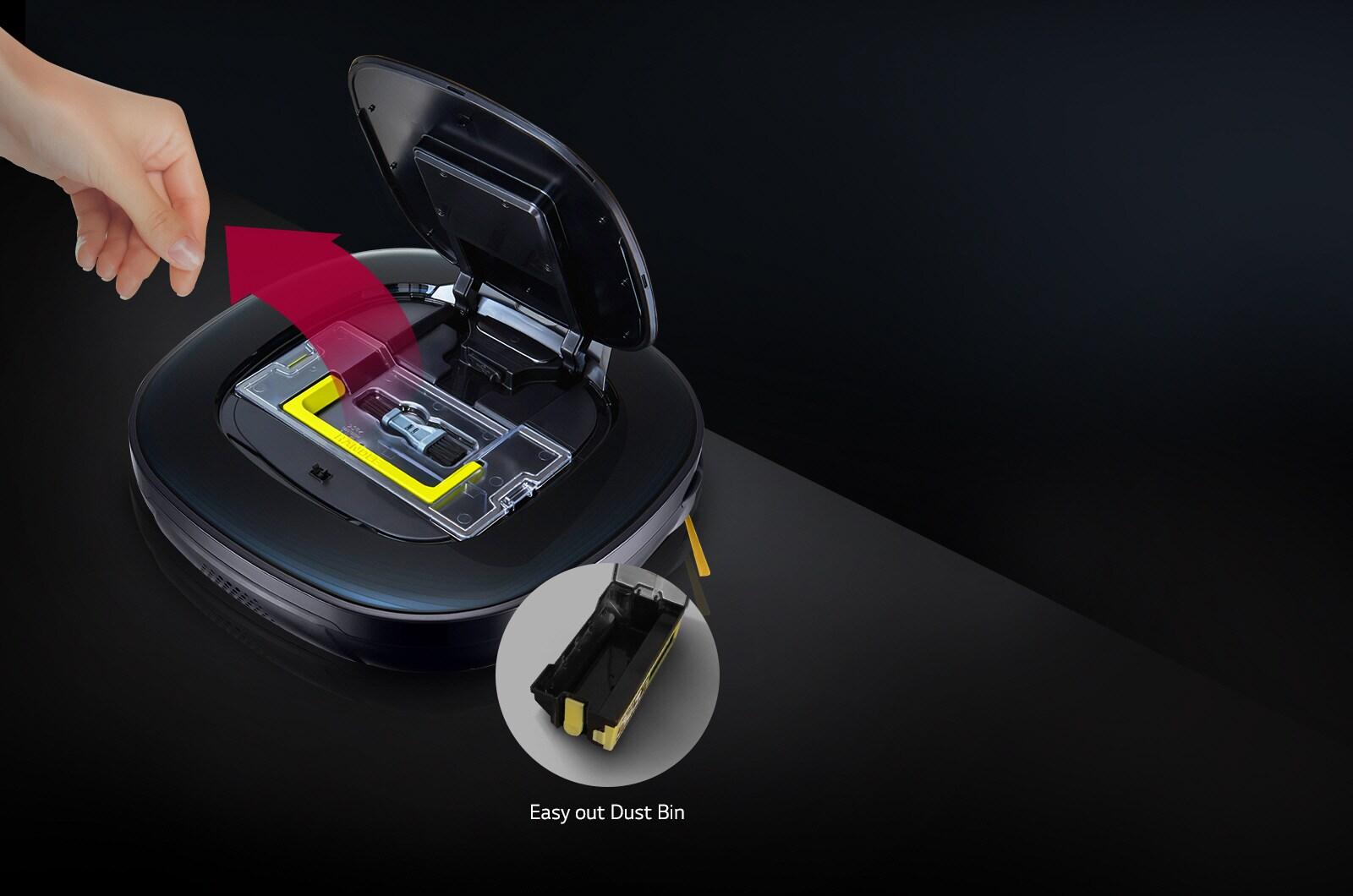 Easy-out Dust Bin