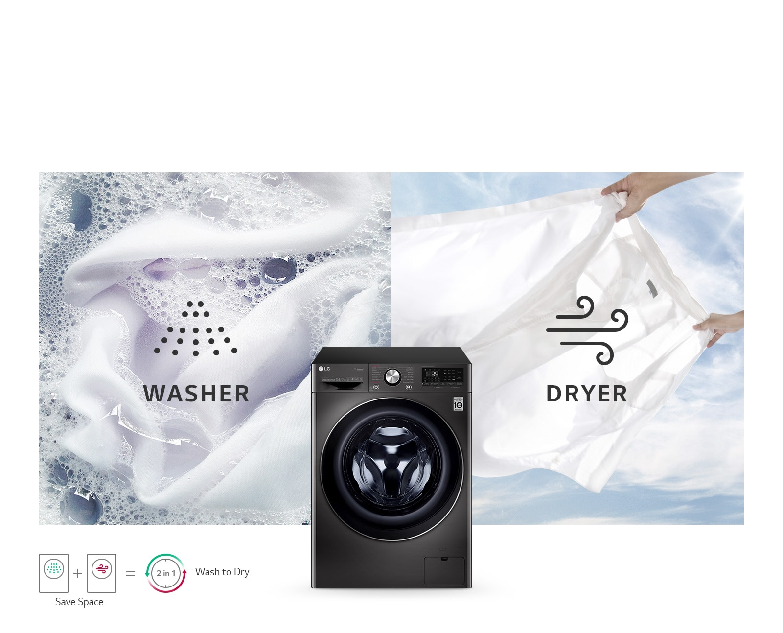 Washer and Dryer in One1