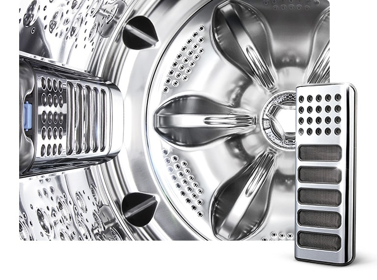 Full Stainless Steel Tub & Lint Filter2