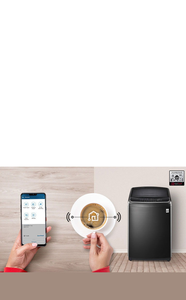 Smart Laundry with Wi-Fi4