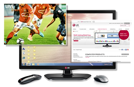 Personal TV (TV+Monitor)