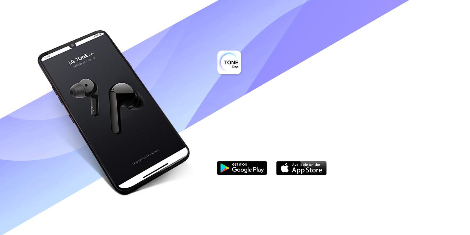 Move to LG TONE Free App mini page.