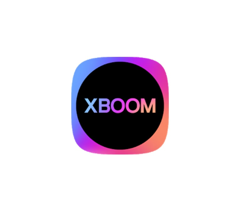 There is a multi-colored XBOOM icon.