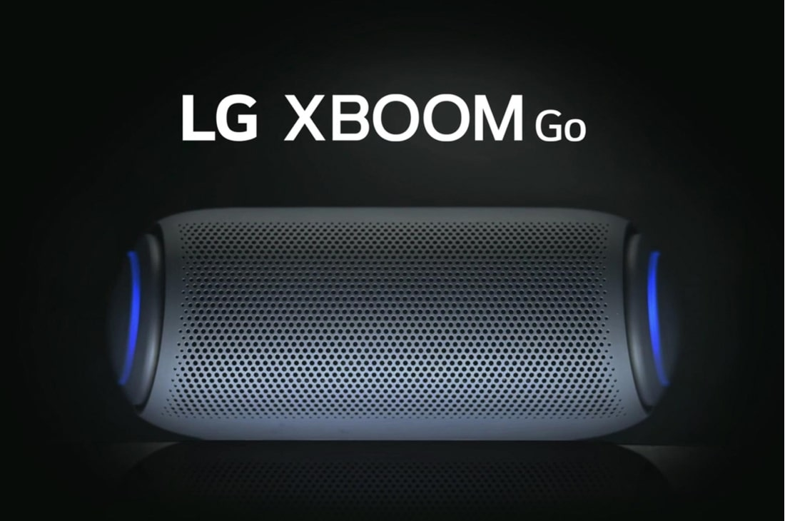 LG XBOOM Go PL5 with Meridian Technology,18 Hour Battery Life & Multi-Colour Lighting, PL5