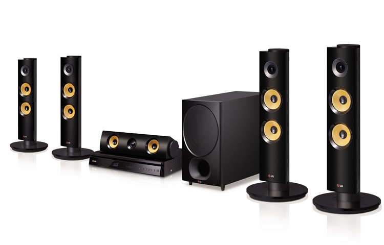 LG 3D 5 1CH BLU-RAY™ HOME THEATER WITH SMART TV | LG Malaysia