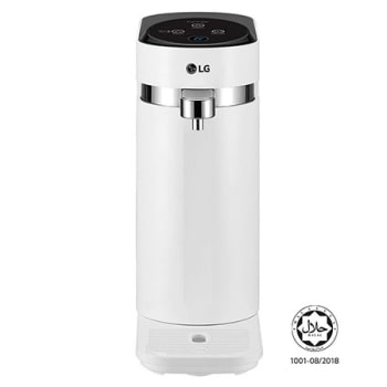 Tankless LG PuriCare™ Water Purifier with 3-stage filtration & Tankless Ambient water, White1