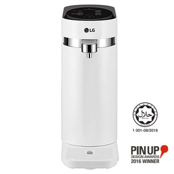 Tankless LG PuriCare™ Water Purifier with 3-stage filtration & Tankless Hot & Ambient Water, White1