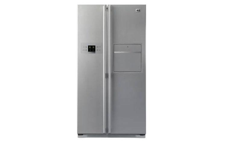 Lg Gr R207wlq Refrigerators 581l 6 Freezer Drawer Side