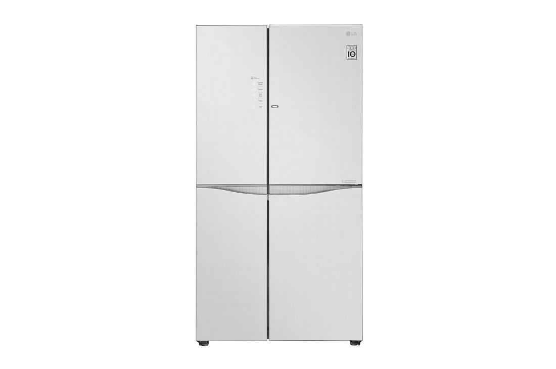 LG IEC Gross 679L Linen White Side-by-Side Refrigerators