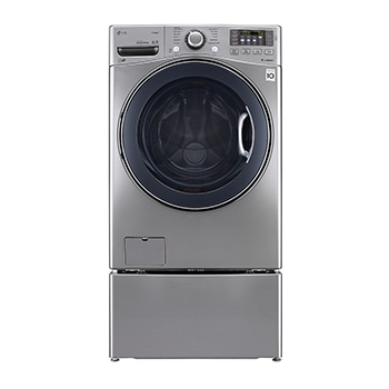 TWINWash™, 18/10 kg Washer Dryer Combo with TrueSteam™ + 3.5 kg Mini Washer 1