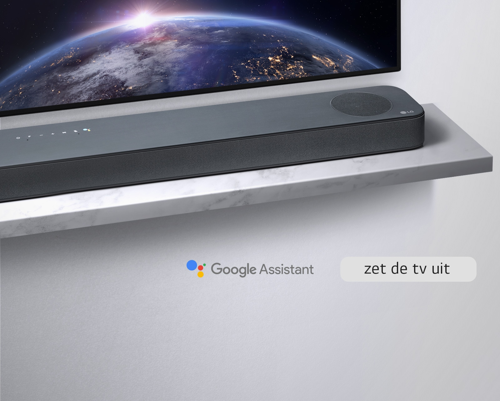 LG Soundbar met de Google Assistent built-in1