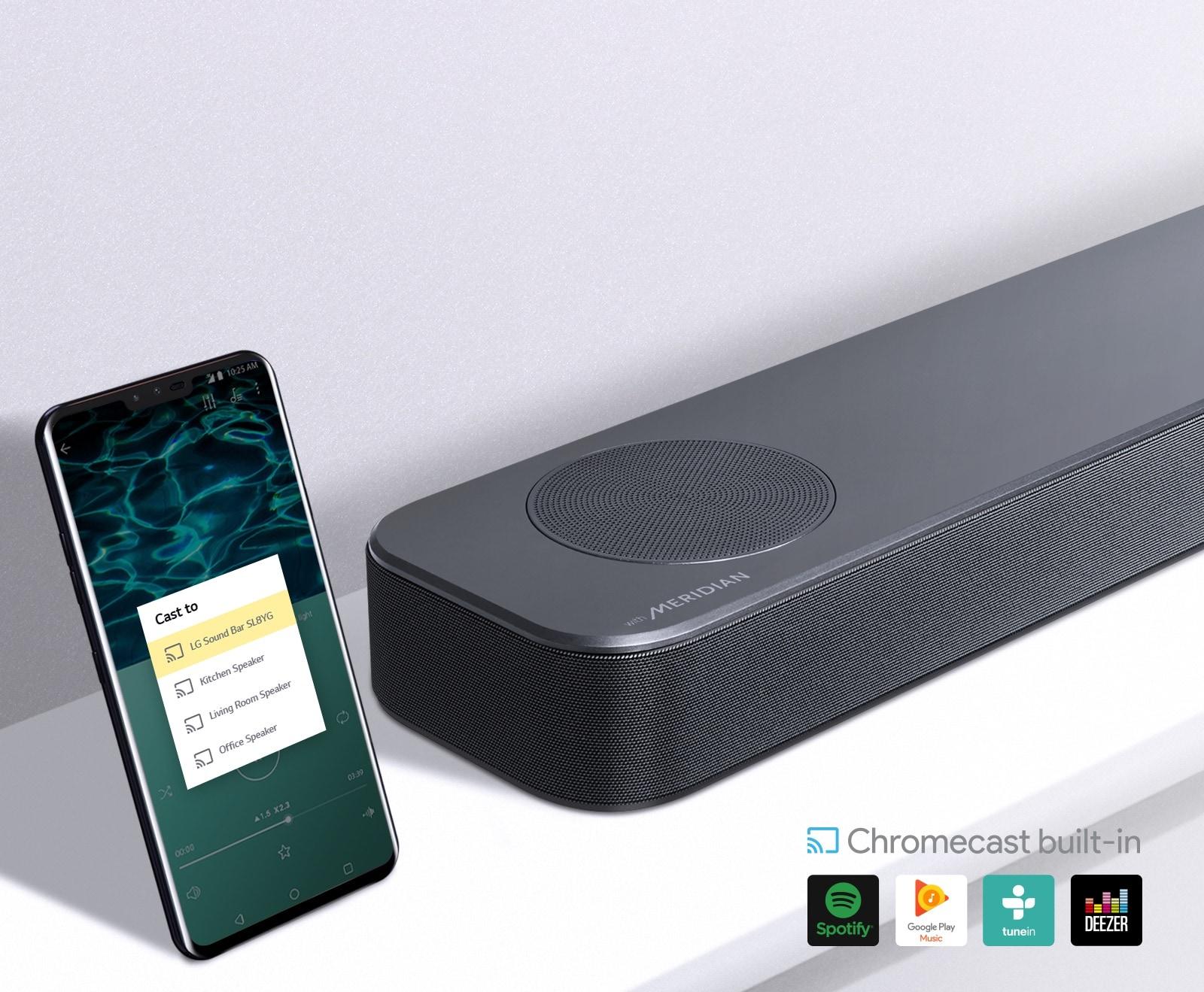 Chromecast ingebouwd1