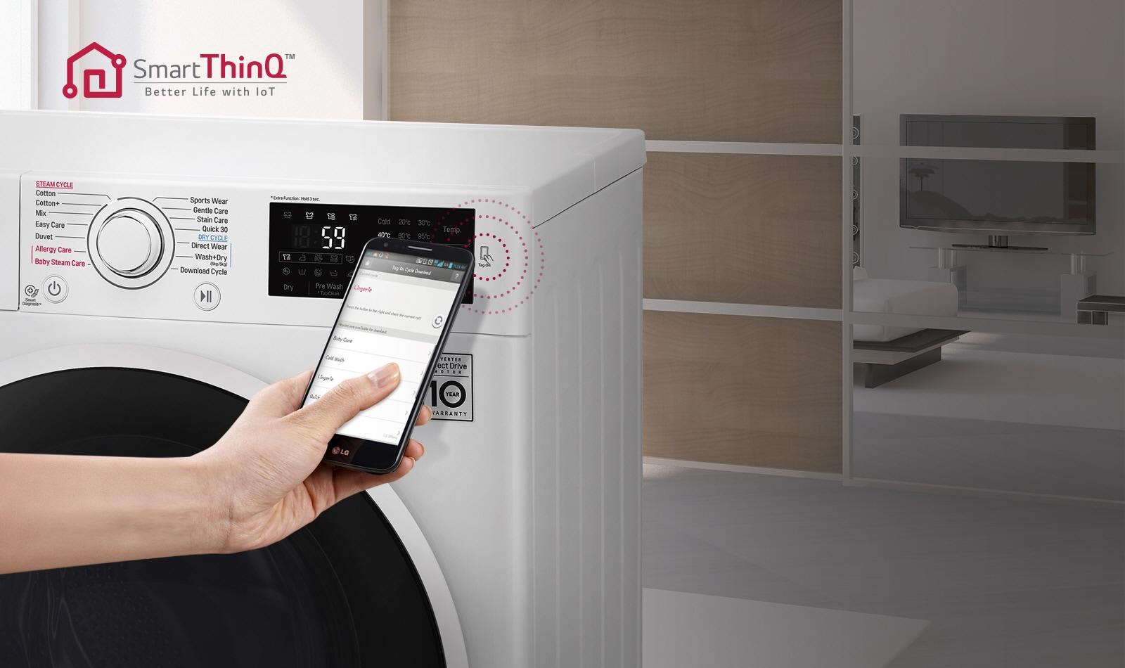 Smart-functionaliteit met NFC