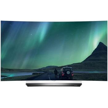 55 139 cm oled ultra hd tv curved tv oled hdr oneindig contrast perfecte kleuren webos 30 smart tv geluid ontwikkeld door harman kardon
