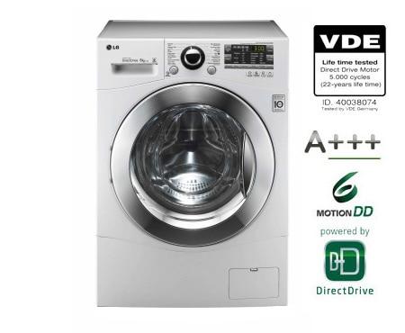 Lg wasmachine 8kg direct drive