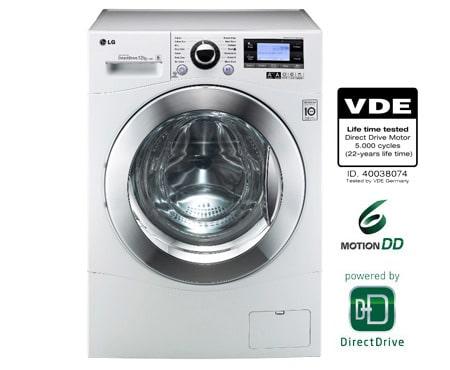 Lg 12 kg wasmachine