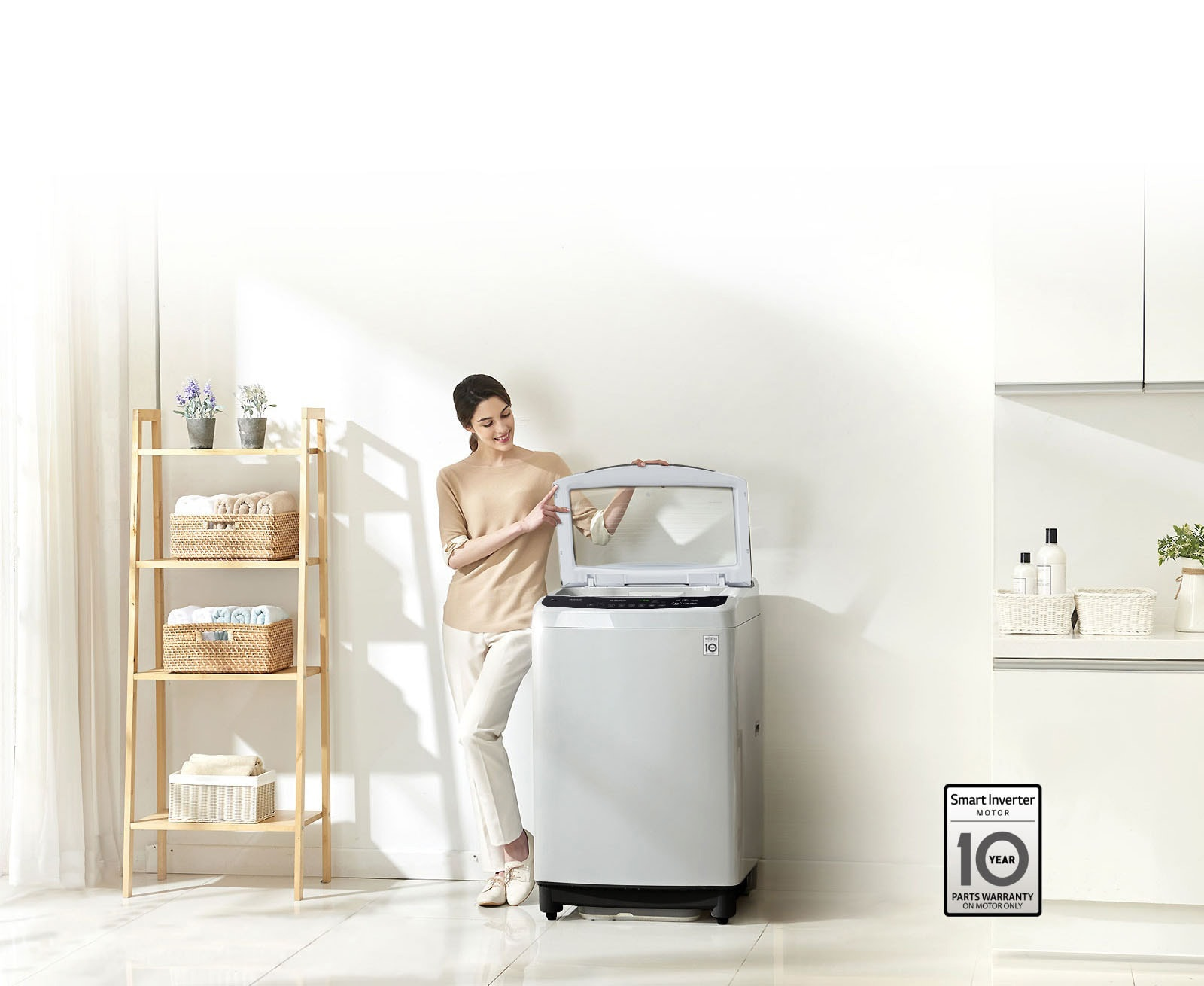 Quality Washing with Smart Inverter Control1