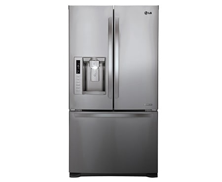 613l French Door Refrigerator With Ice Amp Water Dispenser Lg New Zealand