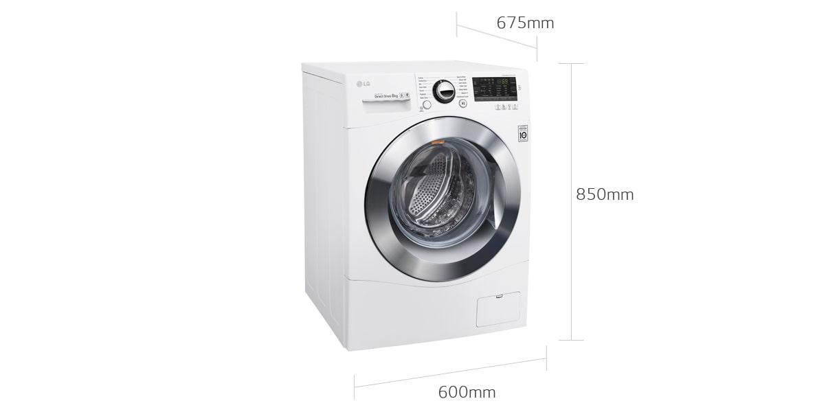 Lg Wd1408npw Front Load Washing Machine