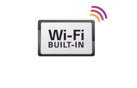 WI-FI BUILT IN
