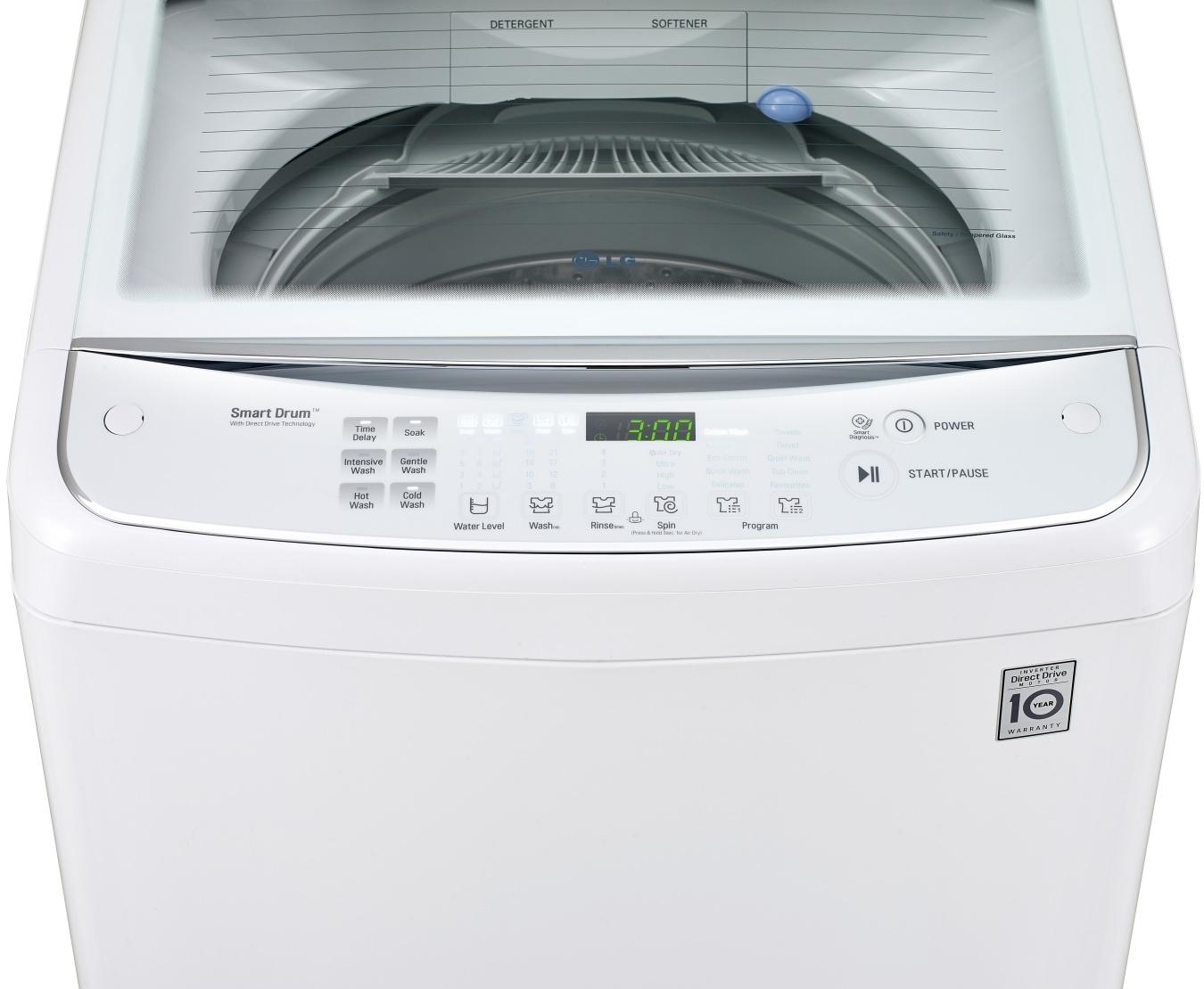Wtg7532w 75kg Direct Drive Washing Machine Lg New Zealand Hoover Motor Wiring Diagram Diagrams