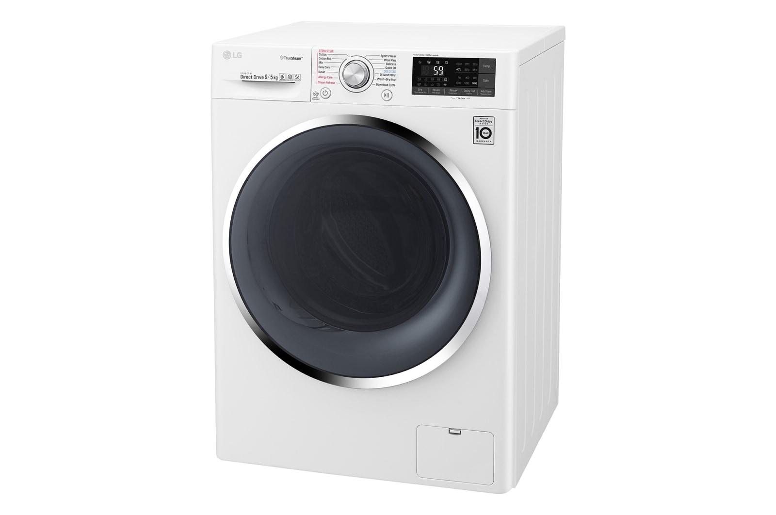 LG Washer Dryer Combo | WTW1409HCW | LG New Zealand