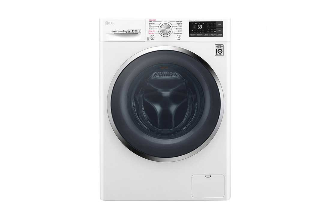 LG 9kg Front Load Washing Machine with Turbo Clean® | LG New