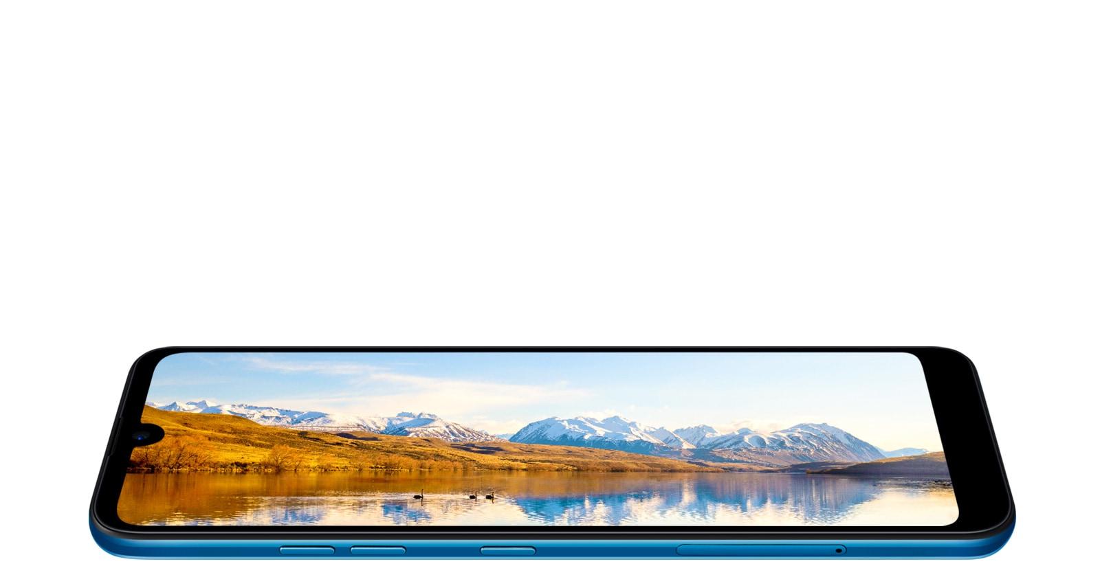 Amplia pantalla y bordes delgados