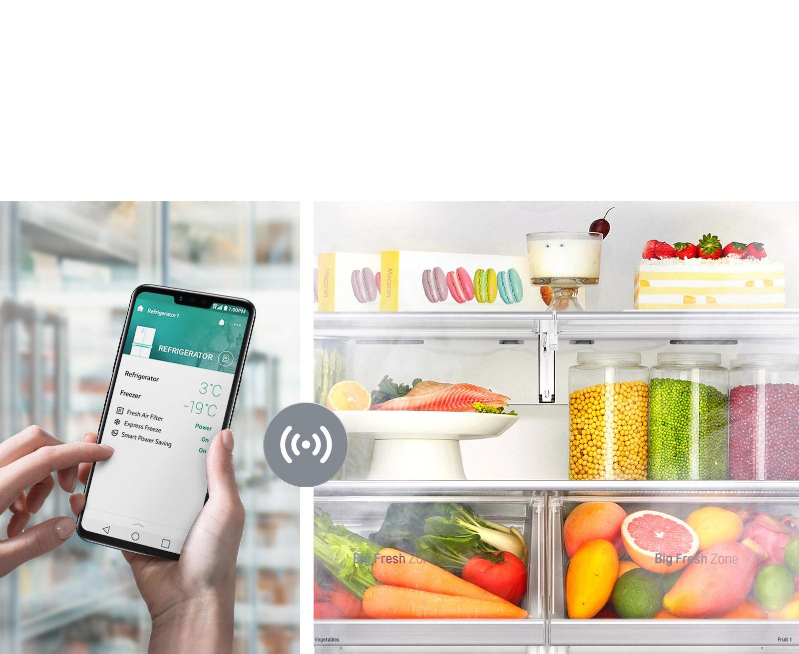 Controla tu Refrigeradora Desde Cualquier Lugar3