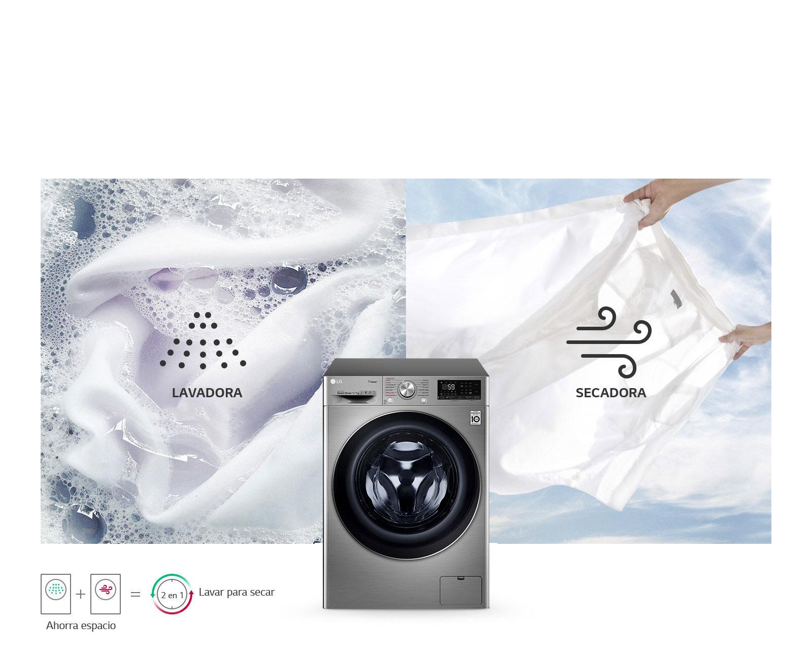 Lavadora y Secadora en Uno1