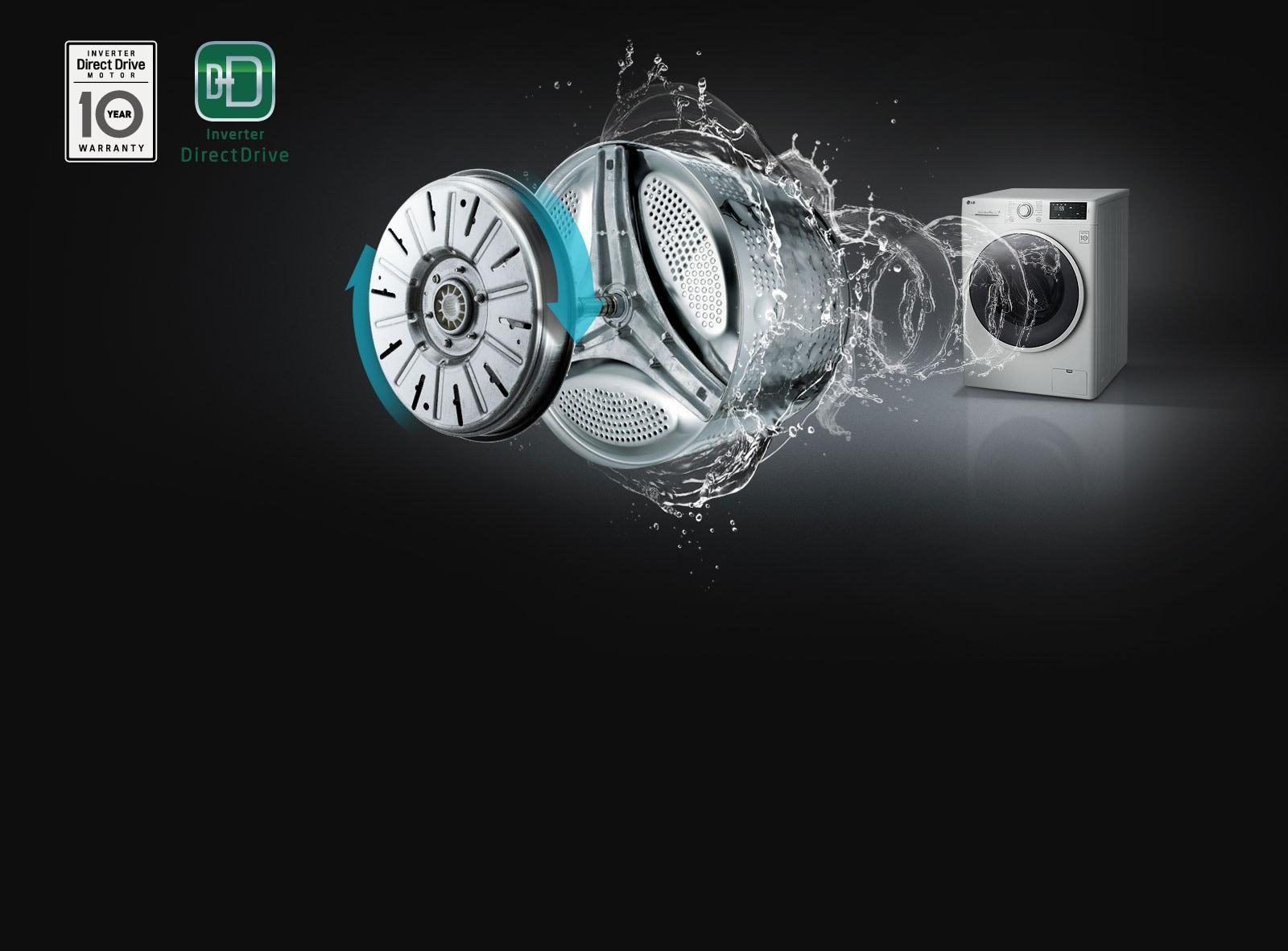 Menos ruido y vibración con Inverter Direct Drive1