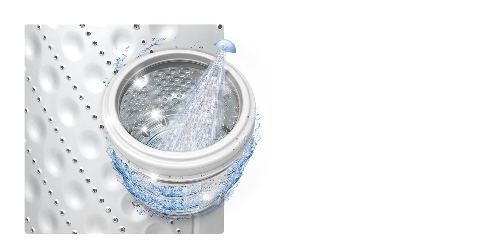 Auto limpieza de tina