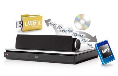 Grabación y reproducción directa USB