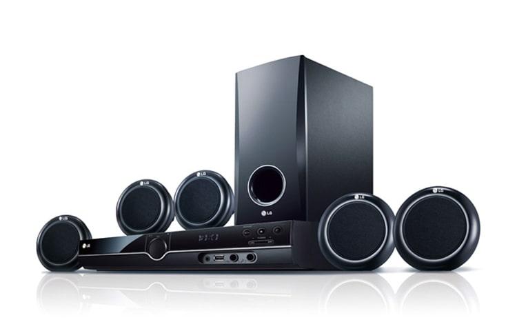 Lg ht356 sistema de dvd home theater lg per - Equipo musica casa ...