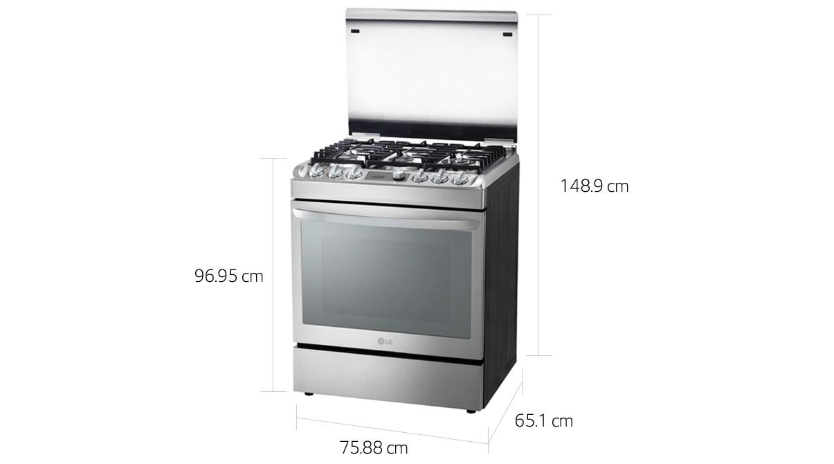 Cocina rsg315t lg per for Dimensiones de una cocina
