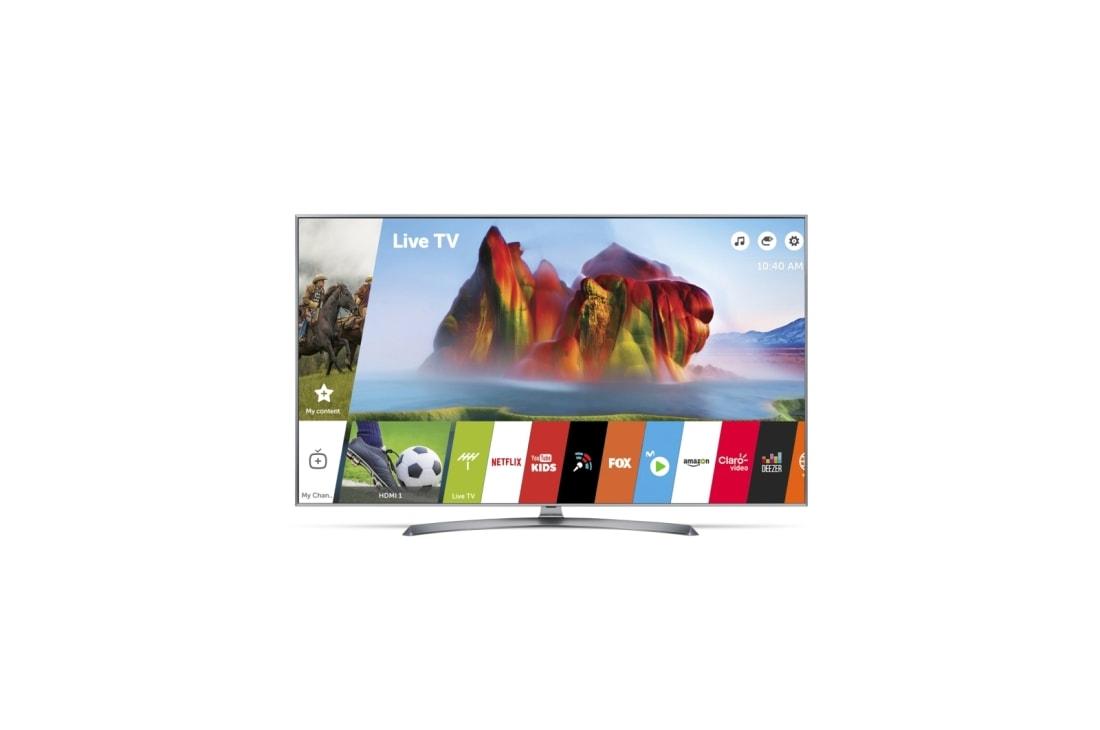 "LG 55UJ7500 55"" SUPER UHD 4K TV| LG Perú"